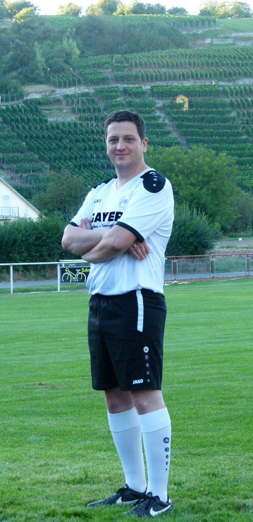 Abwehrspieler Andreas Kruschina