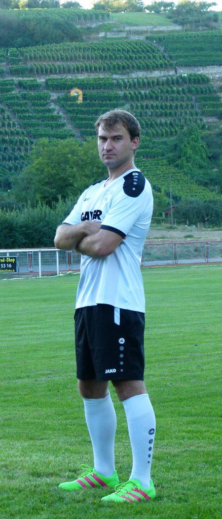 Abwehrspieler Christian Boochs