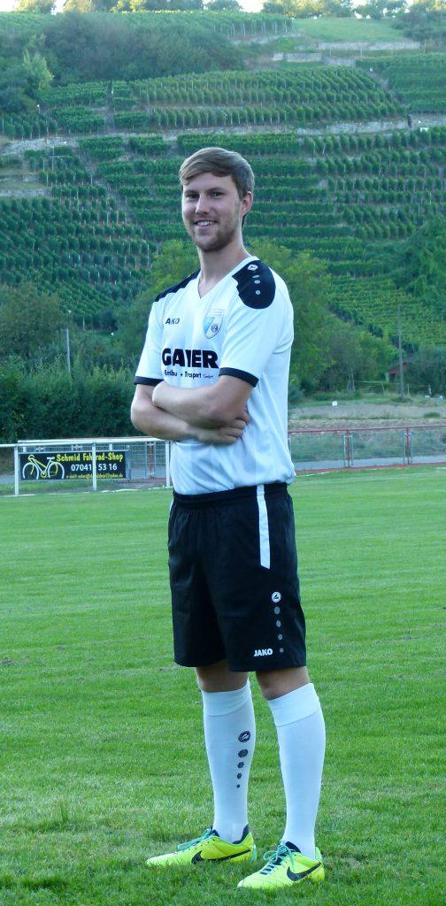 Mittelfeldspieler Jannik Ahner