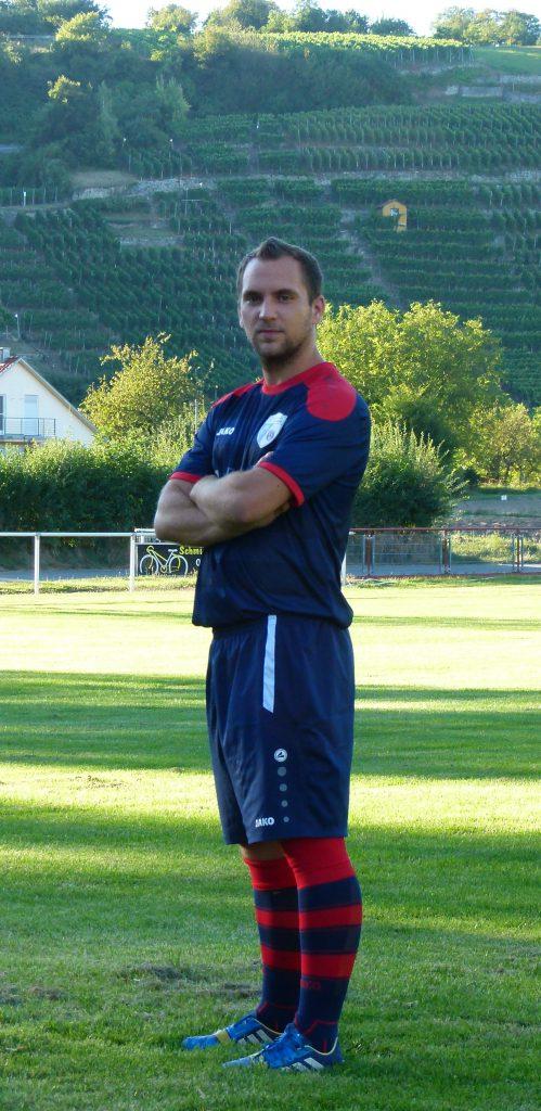 Mittelfeldspieler Steffen Magdalinski