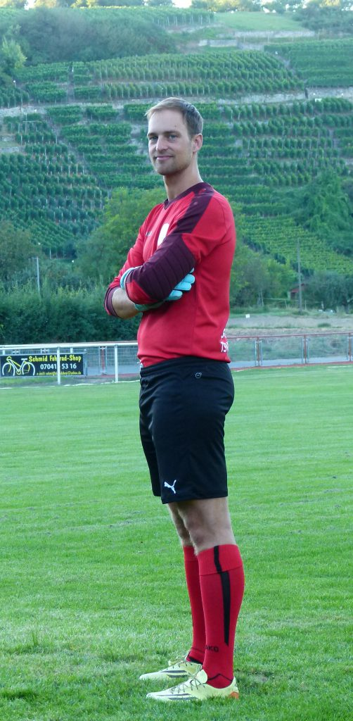 Torhüter Sebastian Wachter