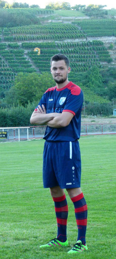 Mittelfeldspieler Marius Zimmermann
