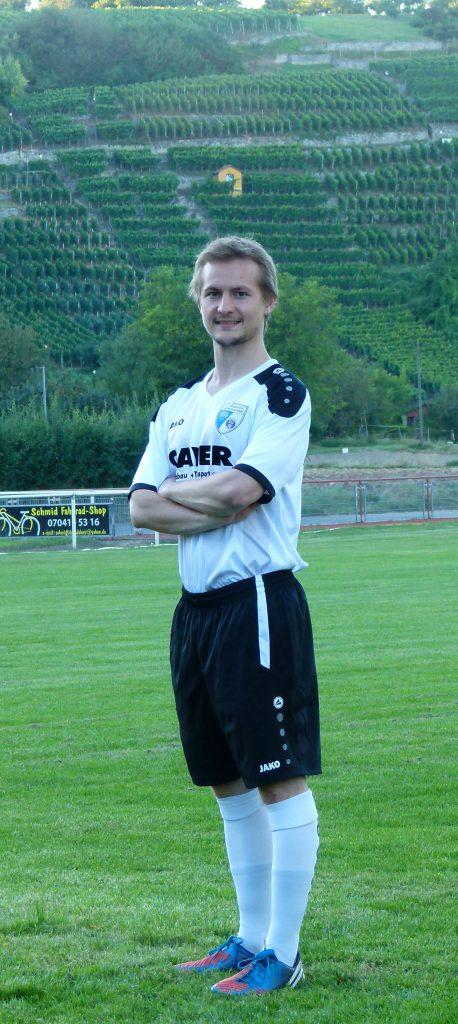 Mittelfeldspieler Max Reich