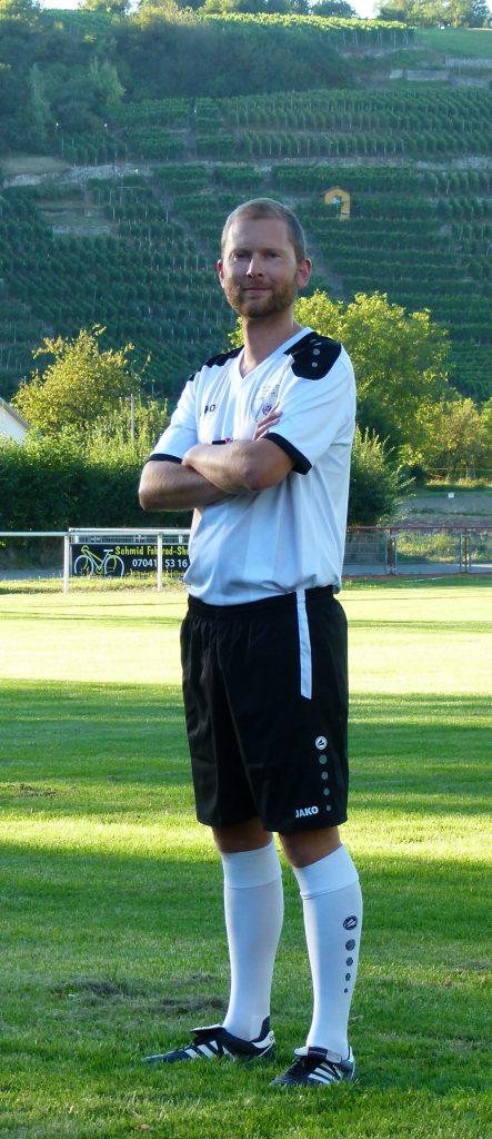 Abwehrspieler Olaf Müller
