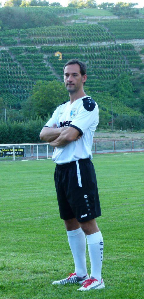 Stürmer Andreas Rauscher
