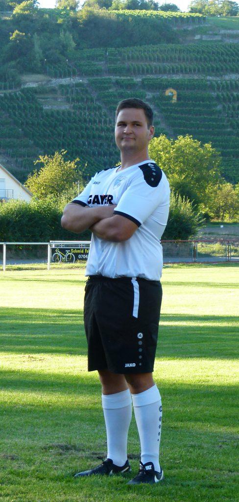 Stürmer Simon Hiller