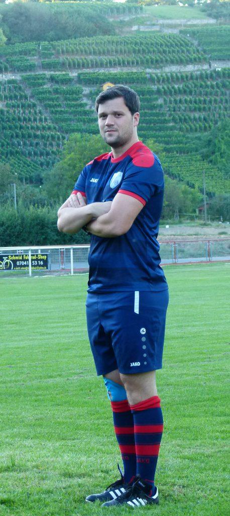 Mittelfeldspieler Thomas Renz