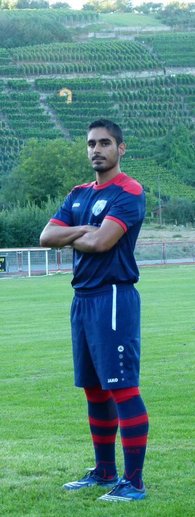 Mittelfeldspieler Yassin Uddin